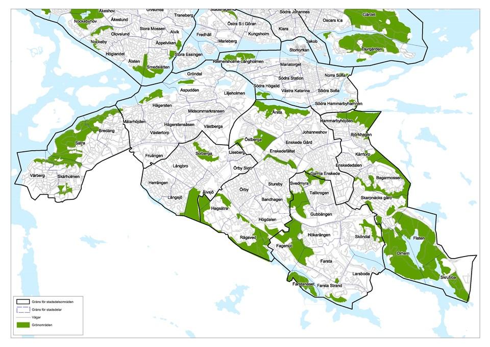 Omradesfakta Statistik Om Stadens Delomraden Stockholms Stad